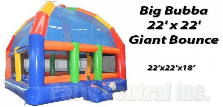 Big Bubba 22'x22' Giant Bounce