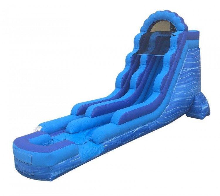 18' Blue Marble Water Slide
