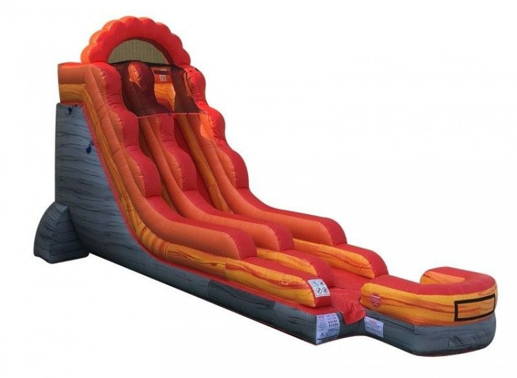 18' Volcano Water Slide
