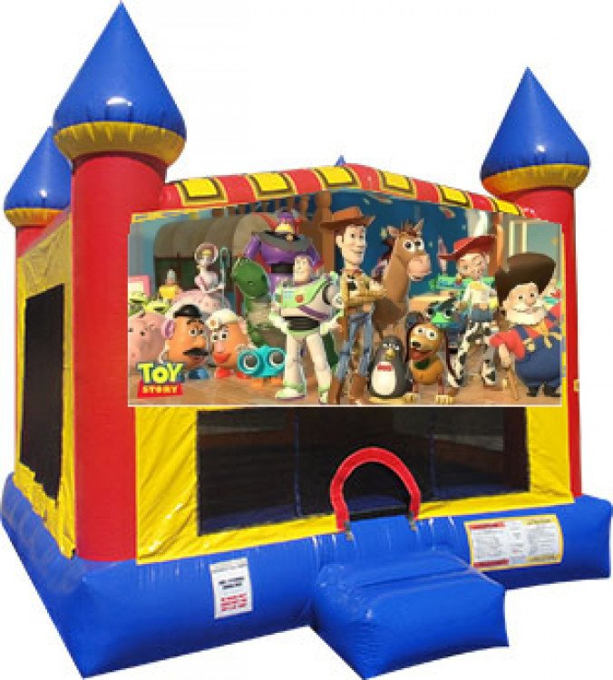 Toy Story Castle Bounce Large